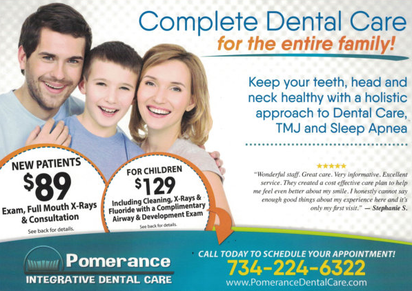 Pomerance Dental Care - Saline Dentist - Promotion 1